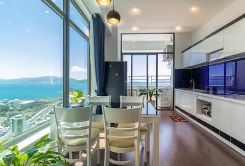 Nha Trang full seaview with nature light 2 br apt