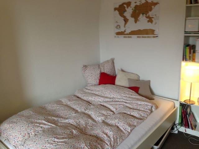 Helles Zimmer in zentraler Lage - Bayreuth - Leilighet