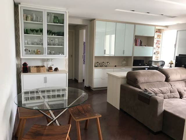 Modern One Suite Flat Curitiba Downtown