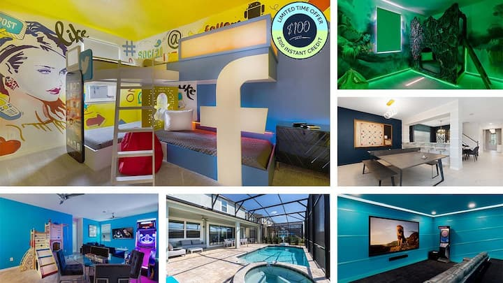 BRAND NEW! Experience a DREAM Home Filled with Amenities! Private Pool and Arcade Games