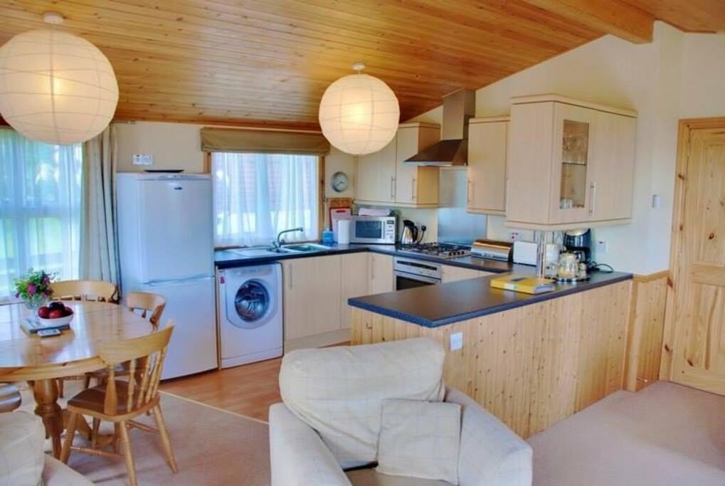 Rowan Lodge kitchen