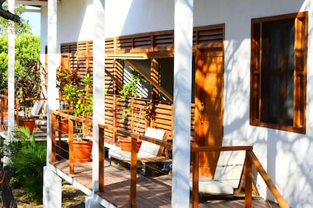 2 BEDROOM  HOUSE IN  POPOYO, steps from the Beach.