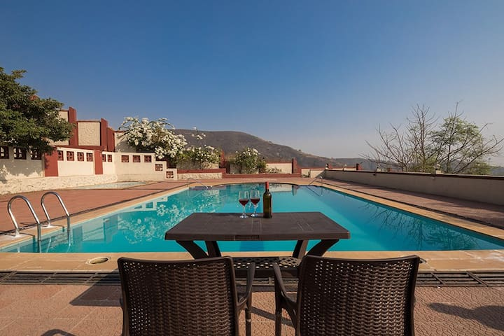 Grand 8BHK Pool Villa with Valley View