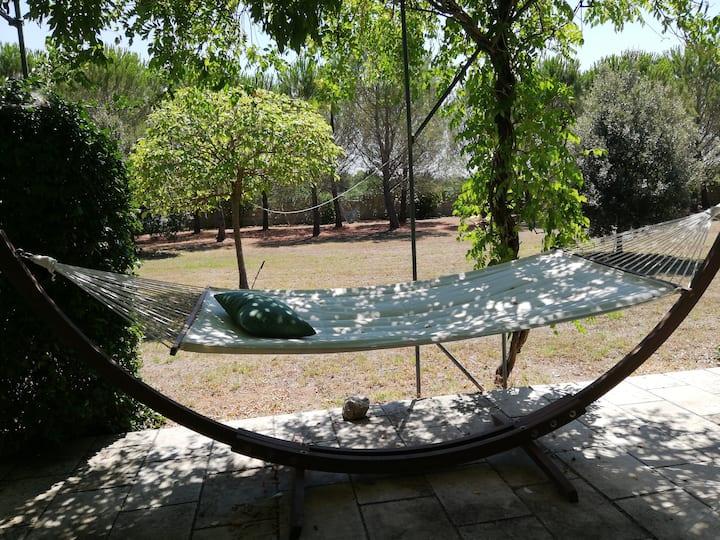 Villa con ampio giardino in Salento