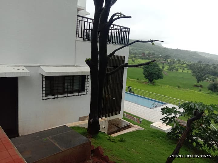 WATERFALL TOUCH 4 BHK AC VILLA WITH SWIMMING POOL