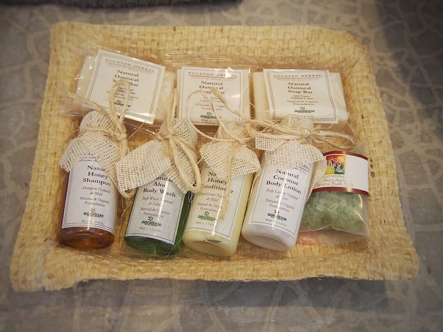 Organic, locally-made toiletries for your daily needs