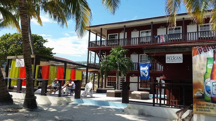 Poolside King: Beachfront & ReefView (1st floor)