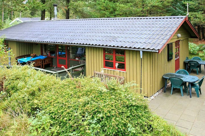 Beautiful Holiday Home in Brovst with Terrace