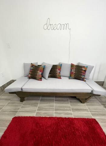 Bedroom 2 futon sleeper