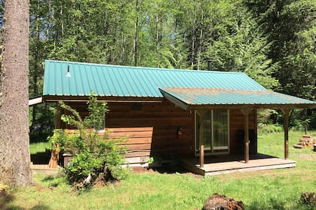 Tiny Cabin of Conscious Living!