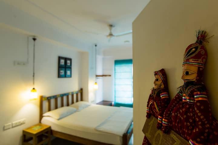 Deluxe Private Room in Moustache Hostel Jaipur