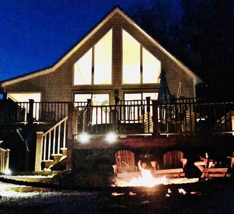Cozy evenings by the Fire, Your Mountain Time starts here......