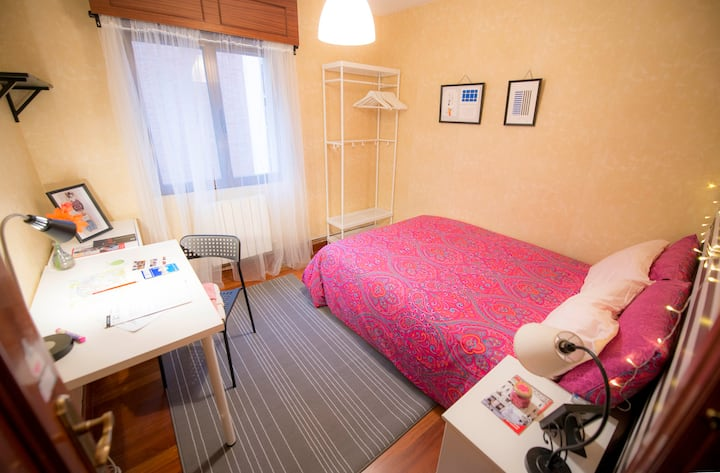 DOUBLE ROOM IN FLOOR WITH BEAUTIFUL VIEWS