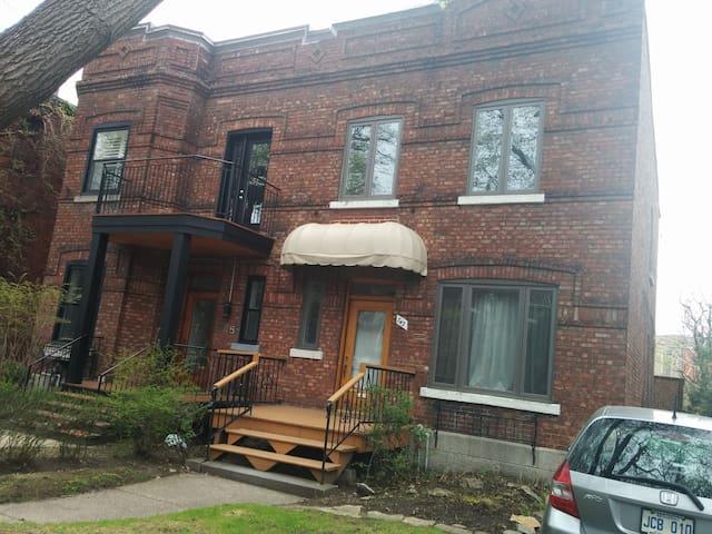 Outremont: charmant petit appartement. - Montréal - Lejlighedskompleks
