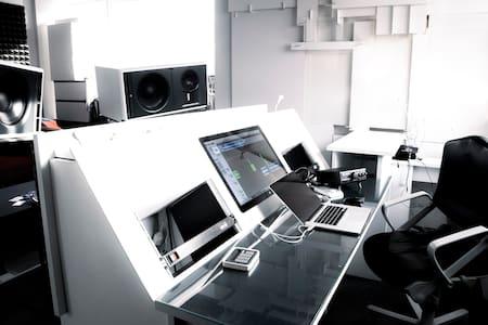 Tonstudio-Regieraum in Hamburg Sternschanze mieten - Hambourg - Bed & Breakfast