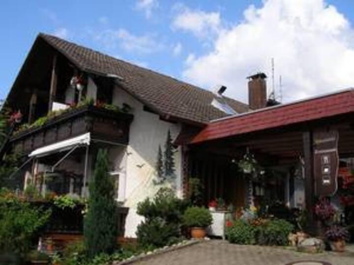 Gasthaus Sonnhalde, (Biederbach), Einzelzimmer mit Dusche und WC