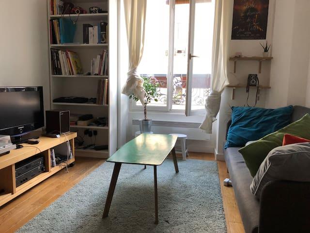 Appartement lumineux de 32m2, deux pièces