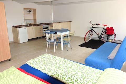 Valsa Apartment - EuroVelo7, Vliněves (Mělník)
