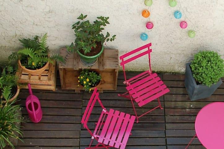 Jolie petite maison hyper centre - Reims - Dom