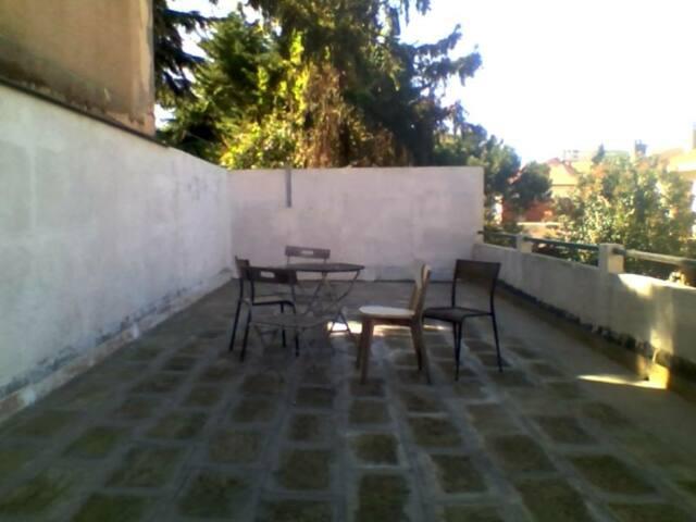 Grand T2 bis calme avec grande terrasse Toulouse - Toulouse - Lägenhet