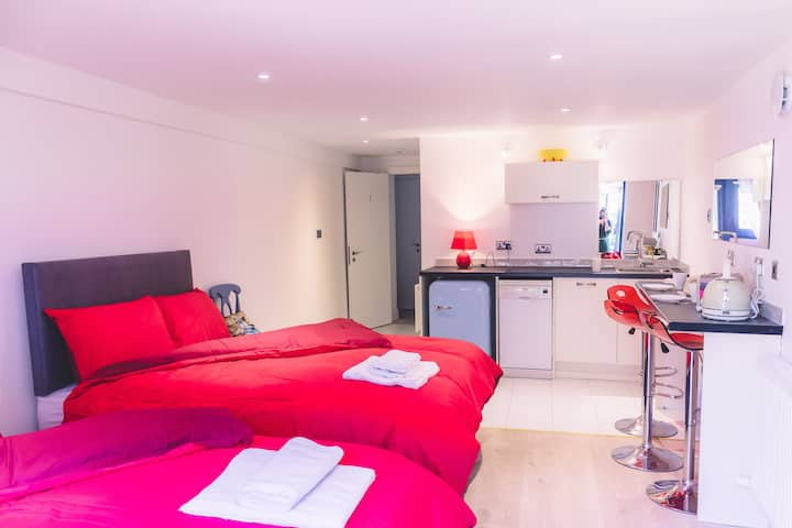 Budget Accommodation Dublin Ireland (Studio 1)