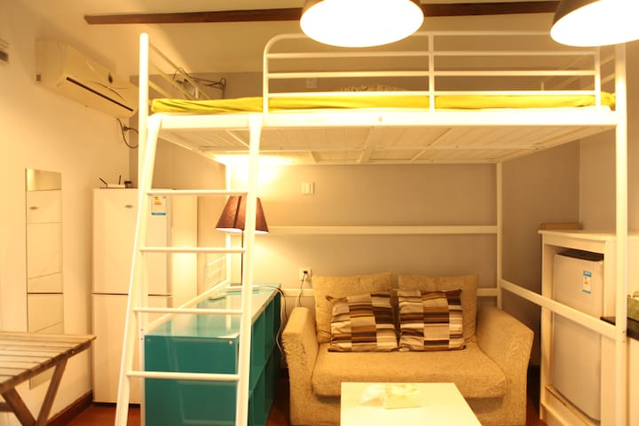 100Sf junior suite with bath&kitchenette@YuyuanRD - Shanghai