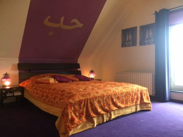 Double or Twin room between Amsterdam and Utrecht - Maarssen - Appartement