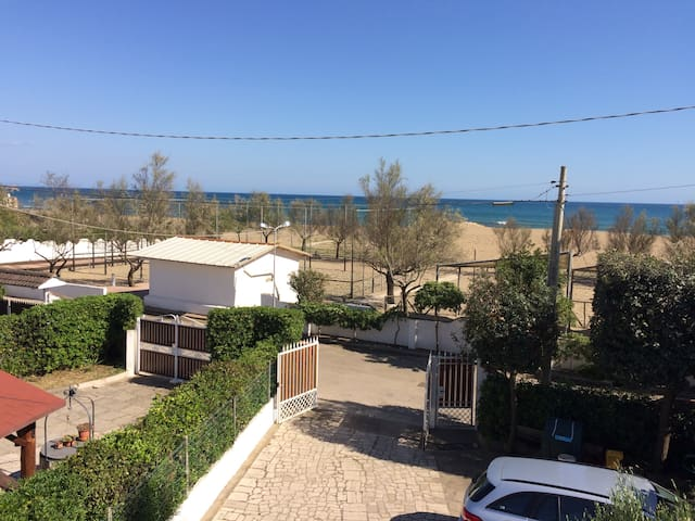 ****    Villa Maria  directly on the beach    ****