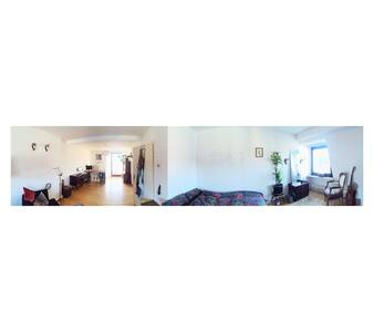 Big room with balcony,very central! - Dortmund - Lejlighed