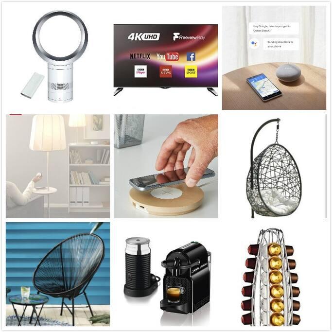 Modern smart tech equipped home