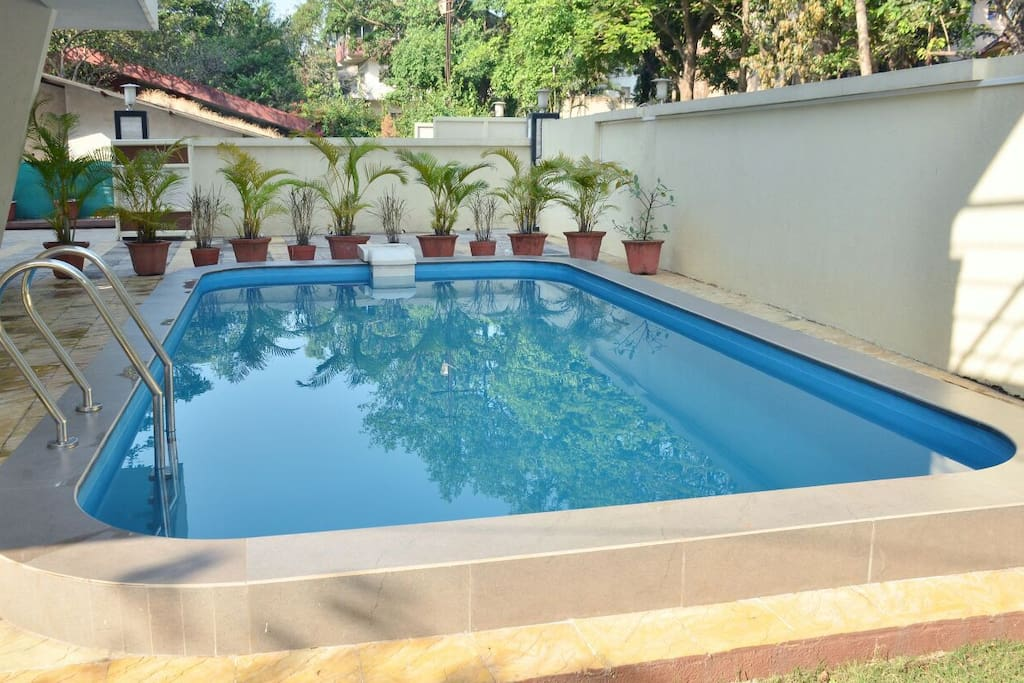 Villa With Private Swimming Pool Jacuzzi Bungalows For Rent In Lonavala Maharashtra India