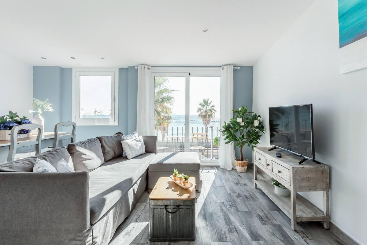 Apartamento junto a la playa en Vilassar de Mar