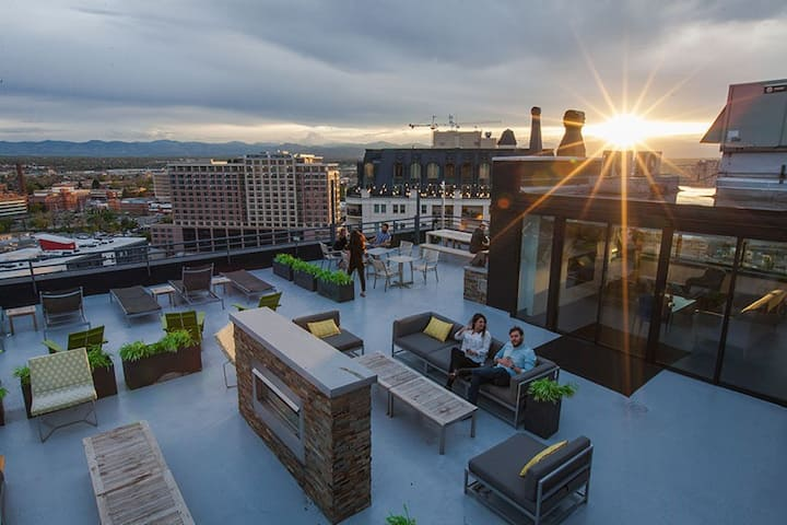 Weed Friendly Rooftop Balcony Apartment