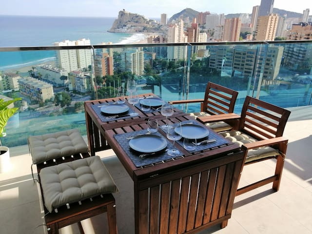 Sunset drive Benidorm 15floor best views luxury