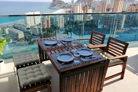 Sunset drive Benidorm 15floor best views luxury