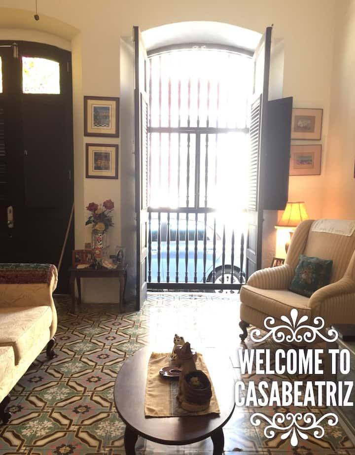 Casa Beatriz @ St. Sebastian Street