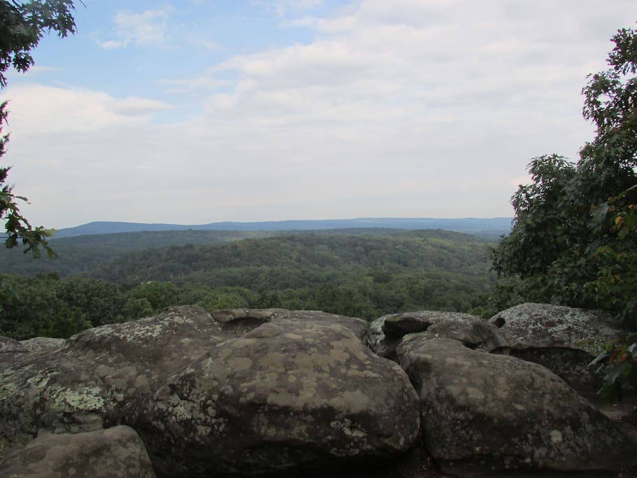 Garden of the Gods is a beautiful place to begin your adventures in the Shawnee National Forest