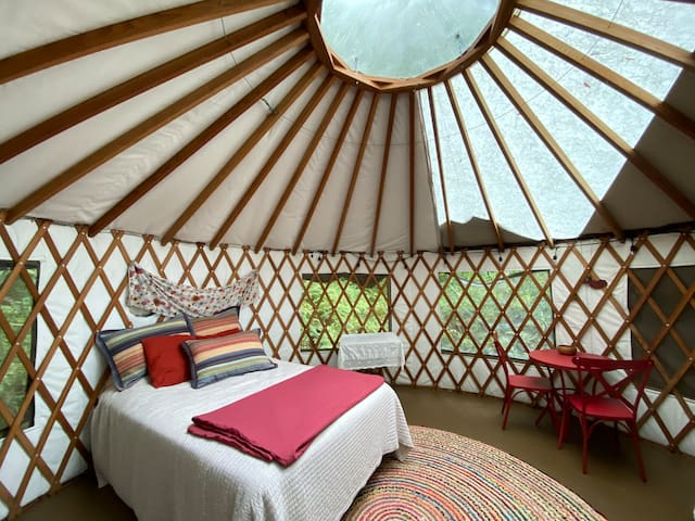 Easy escape: A Yurt in the Forest+ Bonus space.