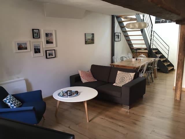 Appartement de charme en duplex - Orléans - Apartemen