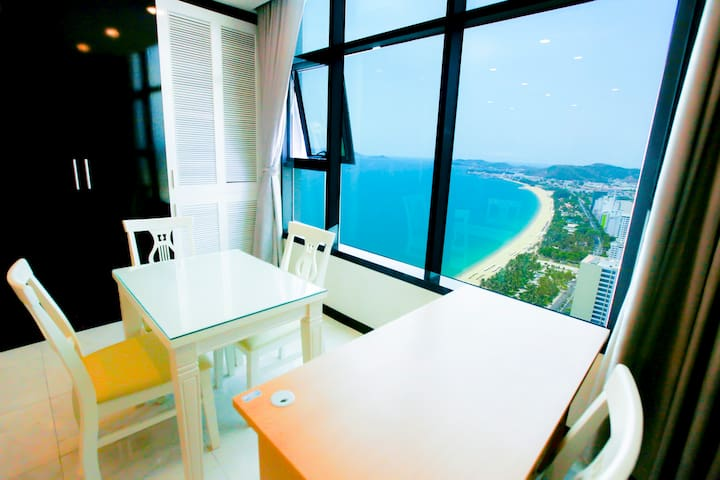 LaBoo_2 double Bed with Sea View - tp. Nha Trang - Apartament