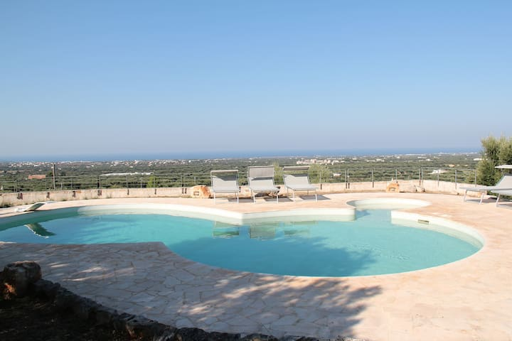 Outstanding Trullo with SeaView and Swimming Pool