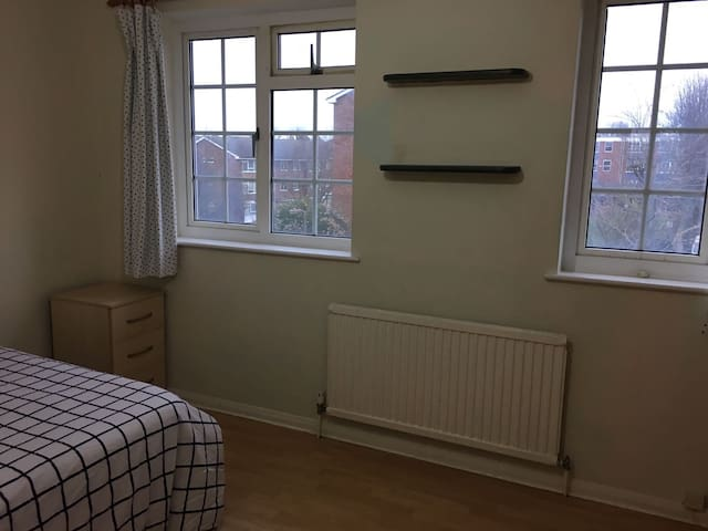 One spacious Double room