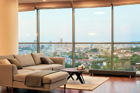 Luxury Panoramic Vilnius Apartment