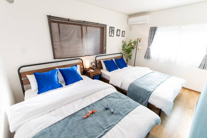 New OPEN!! Houses/10 ppl/Wi-Fi/Direct to Narita