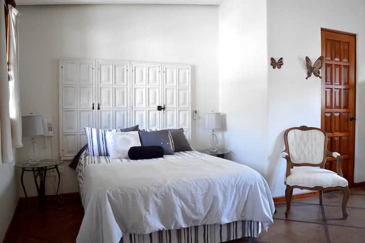 White Doors/ Colonial Style Villa