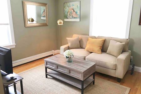Cozy 1 Bedroom Apartment - 20 minutes to Boston