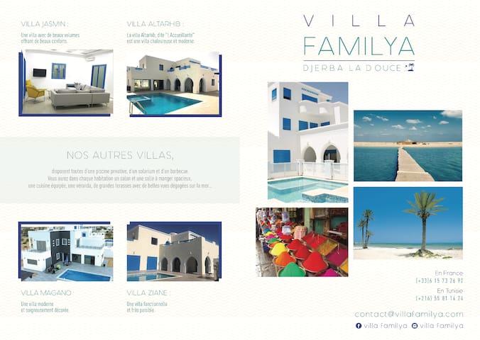 Villa FAMILYA, Djerba Midoun