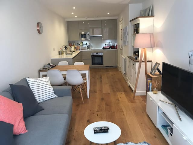 Cozy flat in Richmond, 2 mins from river and shops