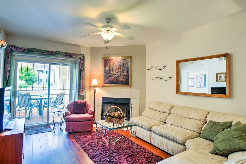 You'll feel right at home in 1,100 square feet of charming  interior.