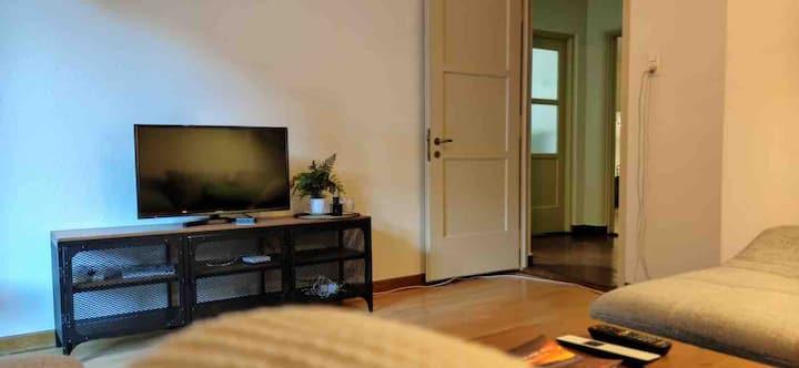 modernes, zentrales Appartement, Hostel feeling
